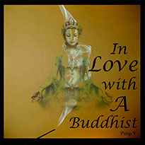 Graphic Design-CP Facade- In Love With a Buddist CD Cover