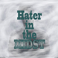 Graphic Design-CP Facade-Hater in the midst CD Cover